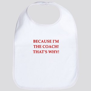 coach gifts t-shirts presen Bib