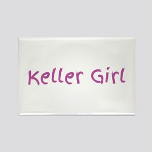 Keller Girl pink Magnets
