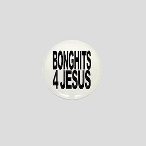 Bonghits 4 Jesus Mini Button