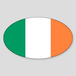 modern ireland irish flag Sticker