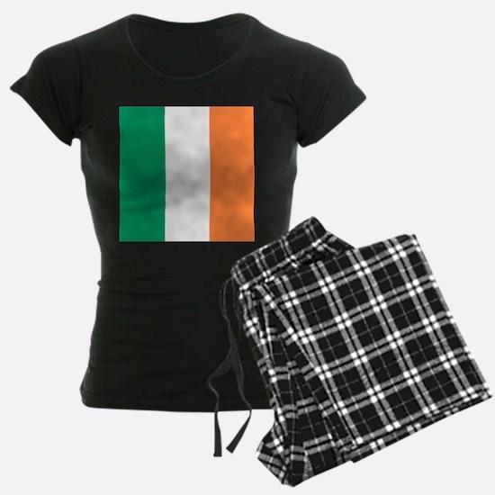 modern ireland irish flag Pajamas
