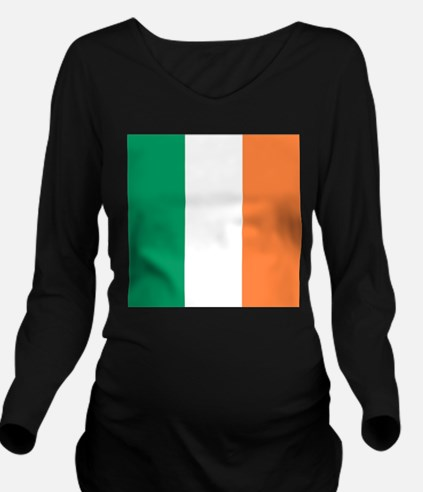 modern ireland irish Long Sleeve Maternity T-Shirt