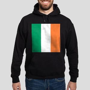 modern ireland irish flag Hoodie (dark)