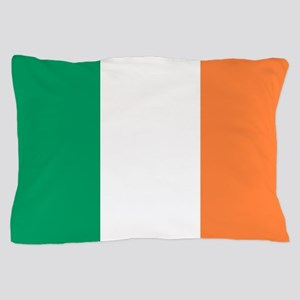 modern ireland irish flag Pillow Case