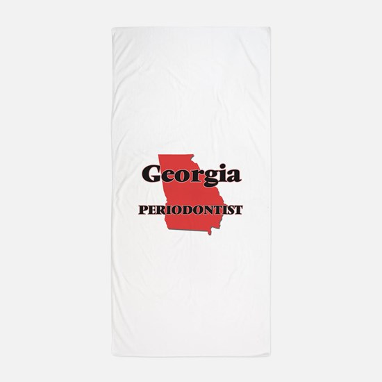 Georgia Periodontist Beach Towel