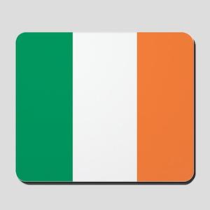 modern ireland irish flag Mousepad