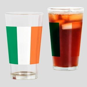 modern ireland irish flag Drinking Glass