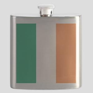 modern ireland irish flag Flask