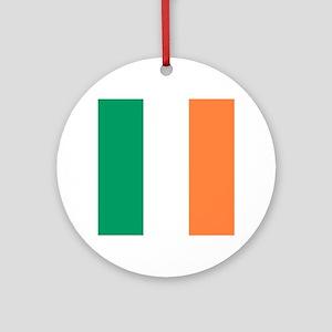 modern ireland irish flag Round Ornament
