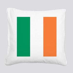 modern ireland irish flag Square Canvas Pillow