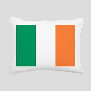 modern ireland irish fla Rectangular Canvas Pillow