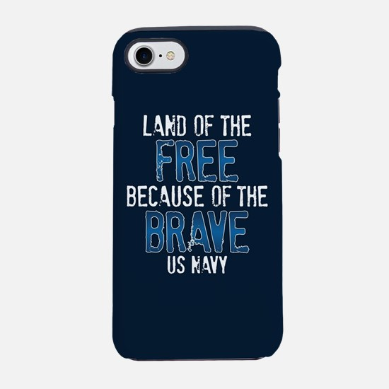 Land of the Free iPhone 8/7 Tough Case