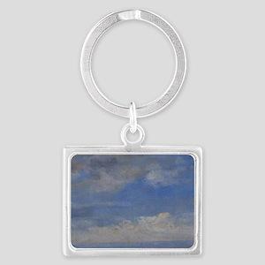 Eugene Boudin - Clouds Landscape Keychain