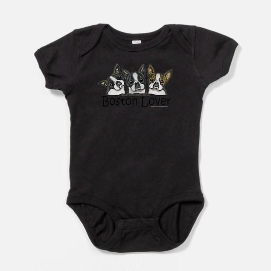 Cute Bostons Baby Bodysuit