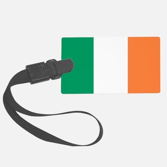 modern ireland irish flag Luggage Tag
