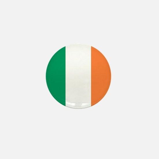 modern ireland irish flag Mini Button