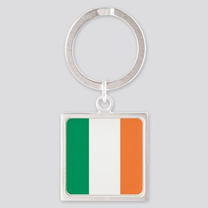 modern ireland irish flag Keychains