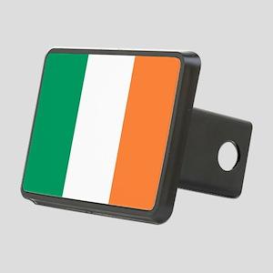 modern ireland irish flag Rectangular Hitch Cover