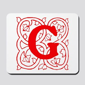 Initial G Mousepad