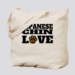 Japanese Chin Love Tote Bag