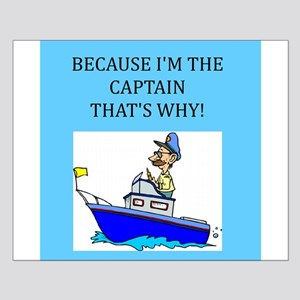 boating gifts t-shirts Small Poster