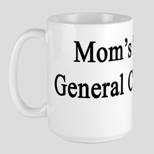Mom's Future General Contractor  Large Mug