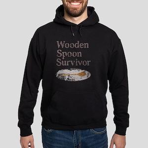 Vintage Wooden Spoon Survivor Hoodie