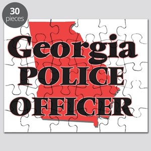 Georgia Police Officer Puzzle