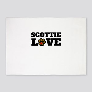 Scottie Love 5'x7'Area Rug