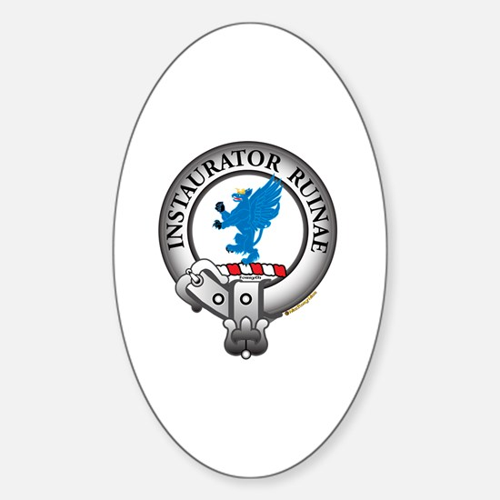Forsyth Clan Sticker (Oval)