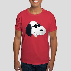 Snoopy Sunglasses Emoji Dark T-Shirt