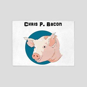 Chris P. Bacon 5'x7'Area Rug