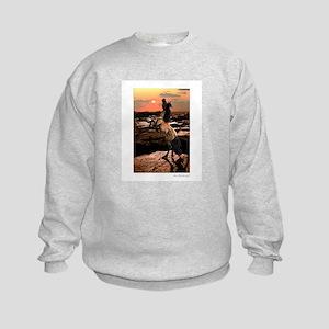 Wild Mustang ~ Horse ~ Kids Sweatshirt