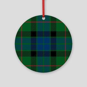 Gunn Clan Round Ornament