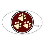 Tripawds Oval Sticker