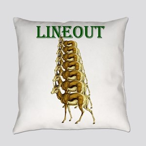 Springbok Rugby Lineout Everyday Pillow