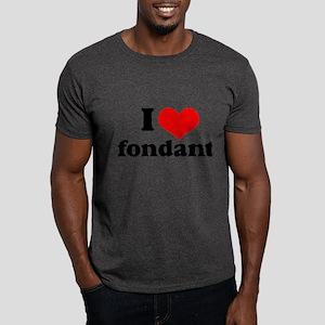I Heart Fondant Dark T-Shirt