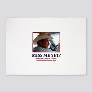 George W Bush - Miss Me Yet? 5'x7'Area Rug