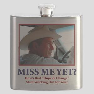 George W Bush - Miss Me Yet? Flask