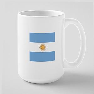 Argentinian pride argentina flag  Large Mug