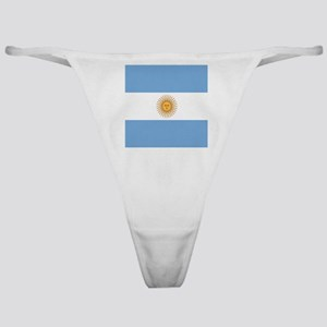 Argentinian pride argentina flag Classic Thong