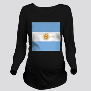 Argentinian pride ar Long Sleeve Maternity T-Shirt