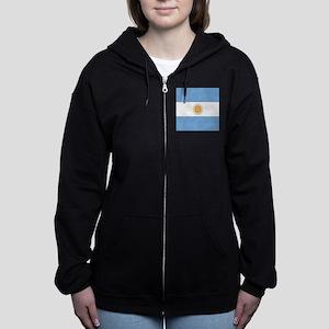 Argentinian pride argentina fla Women's Zip Hoodie