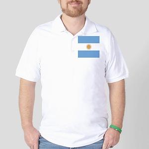Argentinian pride argentina flag Golf Shirt