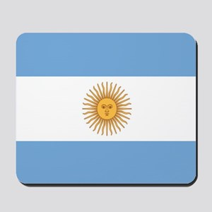 Argentinian pride argentina flag Mousepad