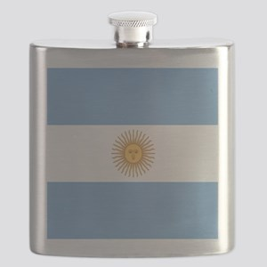 Argentinian pride argentina flag Flask