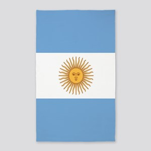Argentinian pride argentina flag Area Rug
