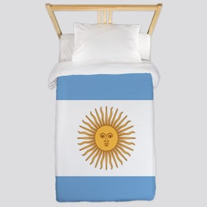 Argentinian pride argentina flag Twin Duvet