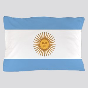 Argentinian pride argentina flag Pillow Case