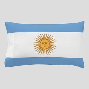 Argentinian pride argentina flag Pillow Case